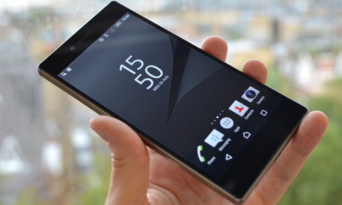 Sony Launches Worlds First 4k Smartphone The Xperia Z5