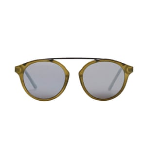 brown framed sunglasses Mango