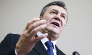 前总统维克多·亚努科维奇及其盟友被指控从乌克兰人民那里偷走了巨额财富。