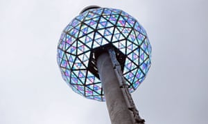 A test run of the Times Square New Year's Eve ball drop is performed on 30 December.
