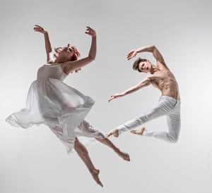 'It's about kissing till your mouth is sore' … Matthew Bourne's Romeo and Juliet.