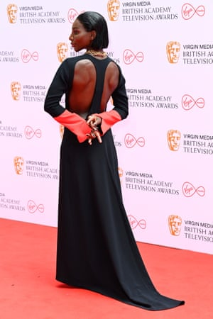 Michaela Coel, whose show I May Destroy You is nominated for eight Baftas.