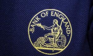 Britainnia embroidered as a bank logo
