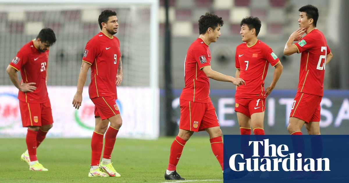Chinese football in doldrums as clubs struggle and World Cup dream fades