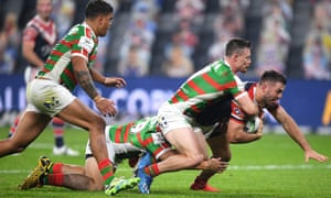Nrl Sydney Roosters 28 12 South Sydney Rabbitohs As It Happened Sport The Guardian
