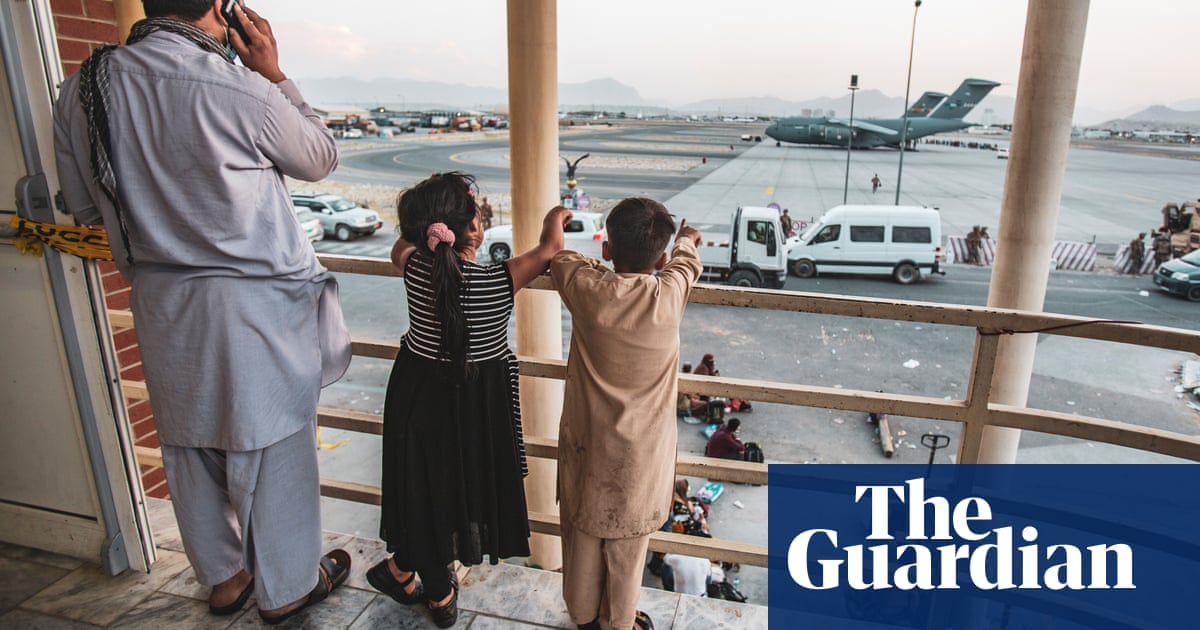 US takes 34 unaccompanied Afghan children into custody after airlift