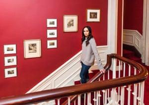 Nancy Reyes at The Harvard Club in Midtown Manhattan, where she is a member.