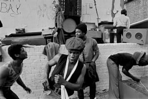 Notting Hill Carnival, London, 1975.