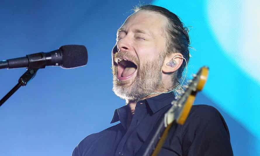 Thom Yorke of Radiohead performs in Sydney, during the band's last tour in 2012