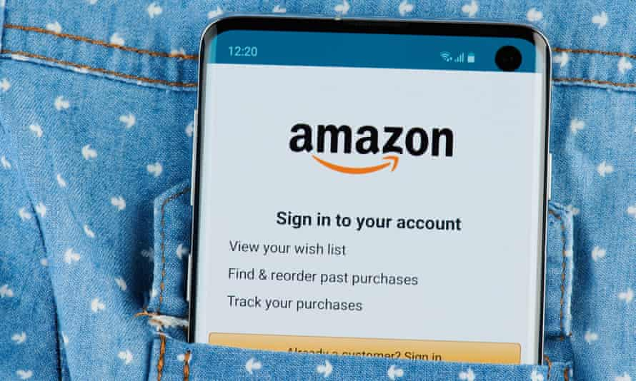 Someone signed into an Amazon account that hadn't been used for years.