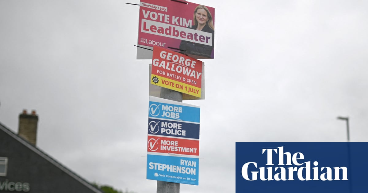 How the Batley and Spen byelection turned toxic