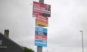 Batley byelection posters