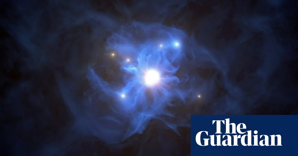 Astronomers detect light behind black hole for first time