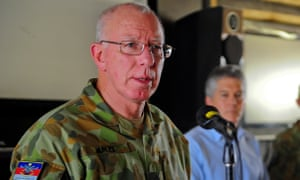 David Hurley was formerly Australia's chief of the defence forces before his appointment as governor general elect.