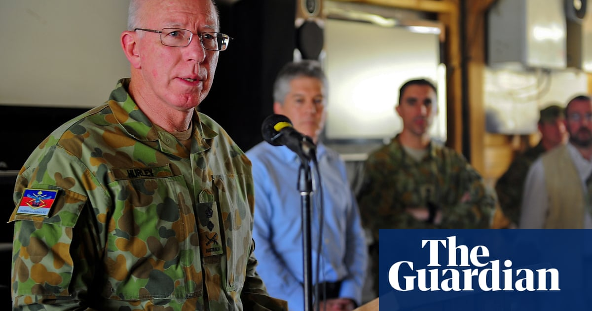 David Hurley named next governor general of Australia as Labor blasts timing - The Guardian image