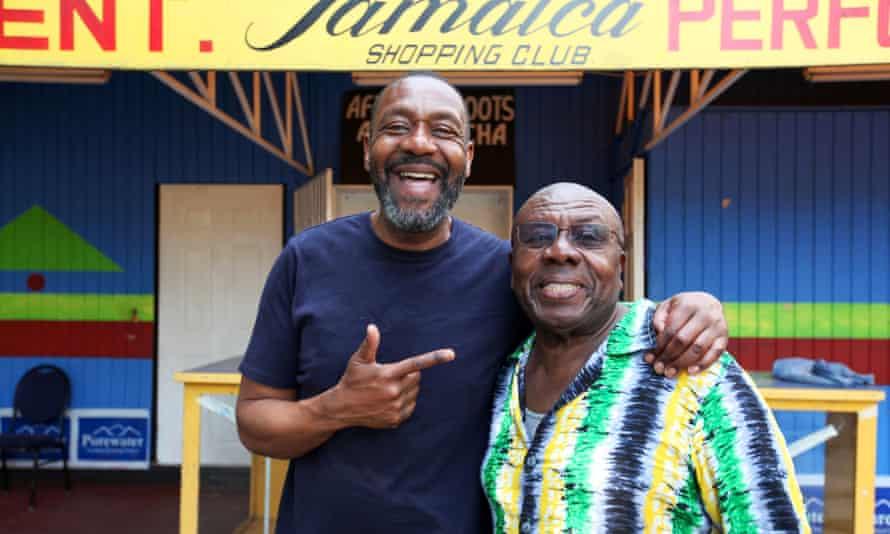 Lenny Henry in Jamaica.
