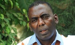 Mauritanian anti-slavery activist Biram Dah Abeid.