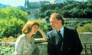 Blair Brown and Bruno Ganz in David Hare's 1989 romantic drama Strapless