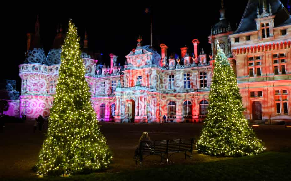 Christmas at Waddesdon Manor.