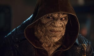 Adewale Akinnuoye-Agbaje as Killer Croc in the 2016 supervillain film Suicide Squad.