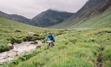 Bikepacking in the Cairngorms.