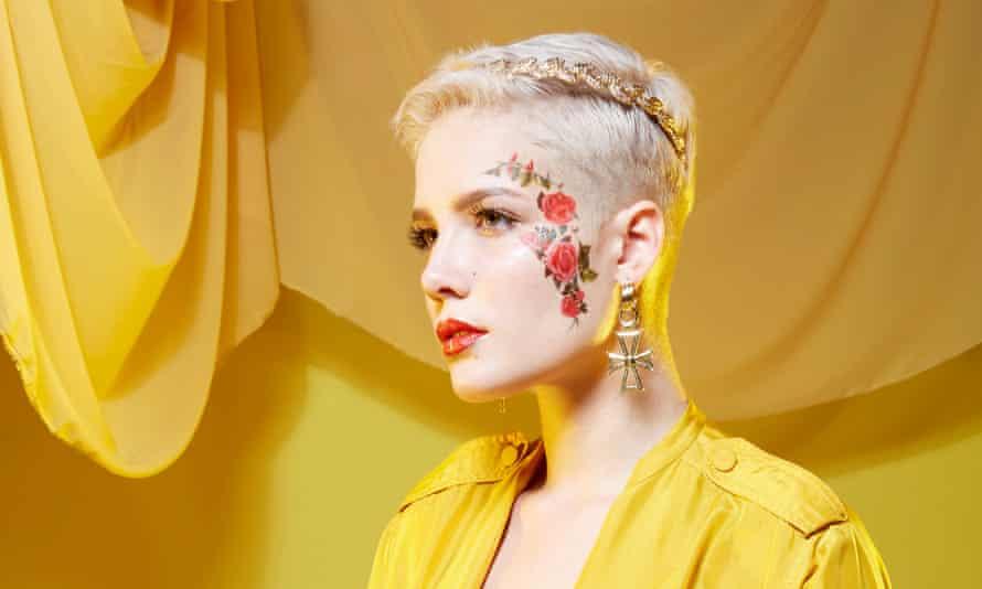 'Artists have a sick masochism' … Halsey.