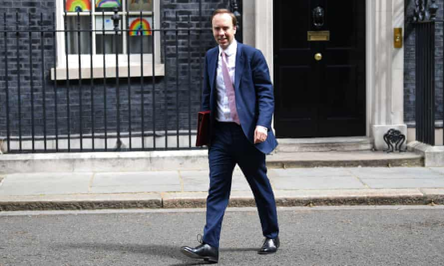 Health secretary Matt Hancock was one of those to raise concerns about the US trade talks.