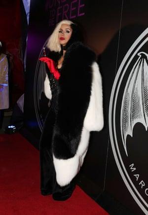 2017 Cardi B as Cruella De Vil