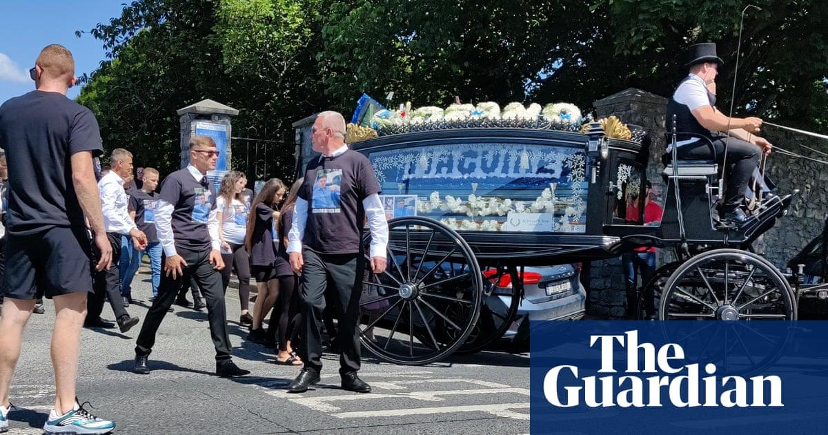 'The most disturbing liturgy ever': Irish burglar gets highly charged send-off