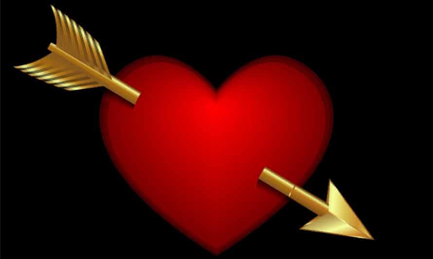 Heart with an arrow through it