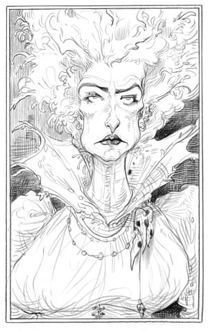 Lady SerpentineNG: 'She's a dangerous Miss Havisham type – you would not want to cross Chris's version of Serpentine.'