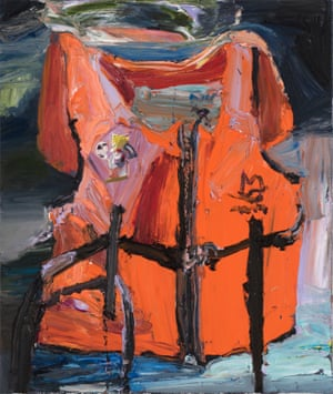 Ben Quilty, Australia, born 1973, Omid Ali Avaz, 2016, Southern Highlands, New South Wales, oil on linen, 130.0 x 110.0 cm; Gift of Paul Walker and Patricia Mason in memory of Omid Ali Avaz through the Art Gallery of South Australia Contemporary Collectors 2018. Donated through the Australian Government's Cultural Gift Program, Art Gallery of South Australia, Adelaide, Courtesy the artist, photo: Brenton McGeachie. 20183P84