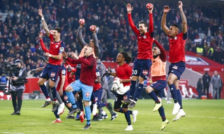 Lille hammer 'beginners' PSG as they close in on the Champions League