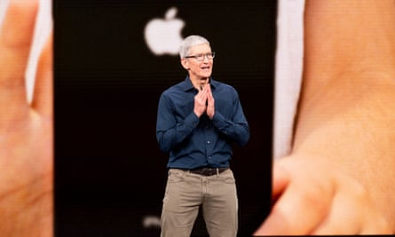 Tim Cook, who took over running Apple in 2011.