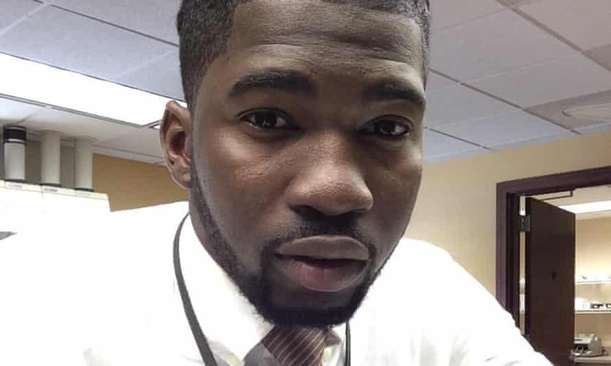 Matthew Ajibade, a Georgia student who died in January.