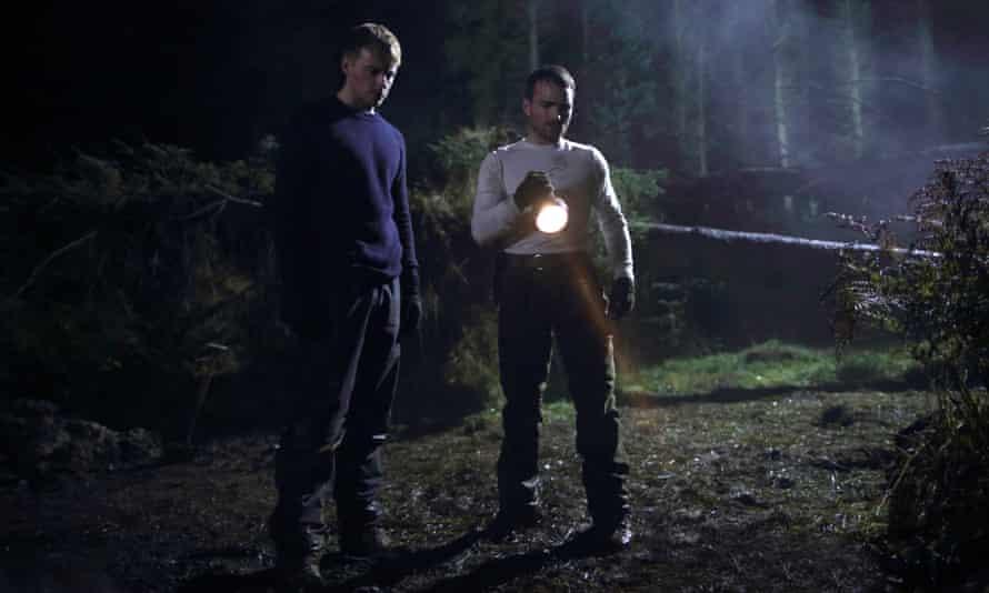Jack Lowden and Martin McCann in Calibre.