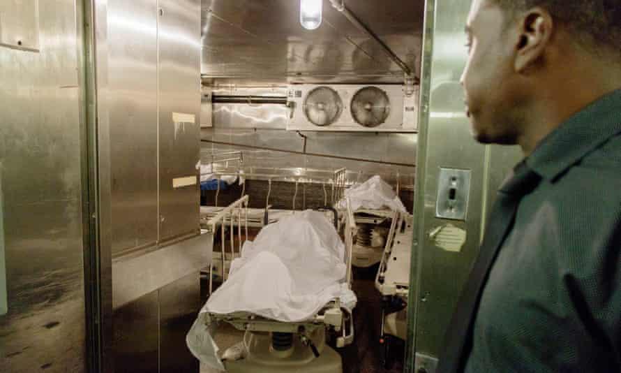 khari edwards inside the morgue