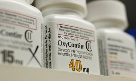 OxyContin. Opioid overdoses have become the leading cause of death among the under-50s in the US.
