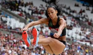 Katarina Johnson-Thompson is focused on winning another title at the European Athletics Championships.