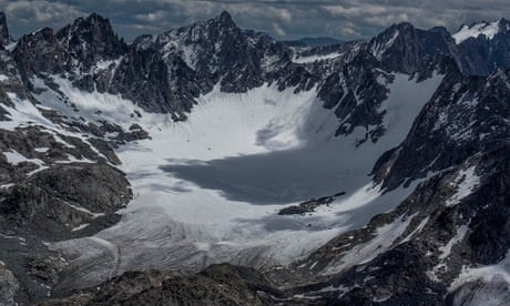 One man's race to capture the Rocky Mountains glaciers before they vanish