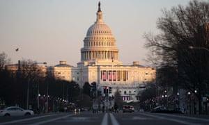 Post-Inauguration in Washington, DC, USA.