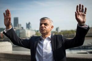 London, England: Sadiq Khan