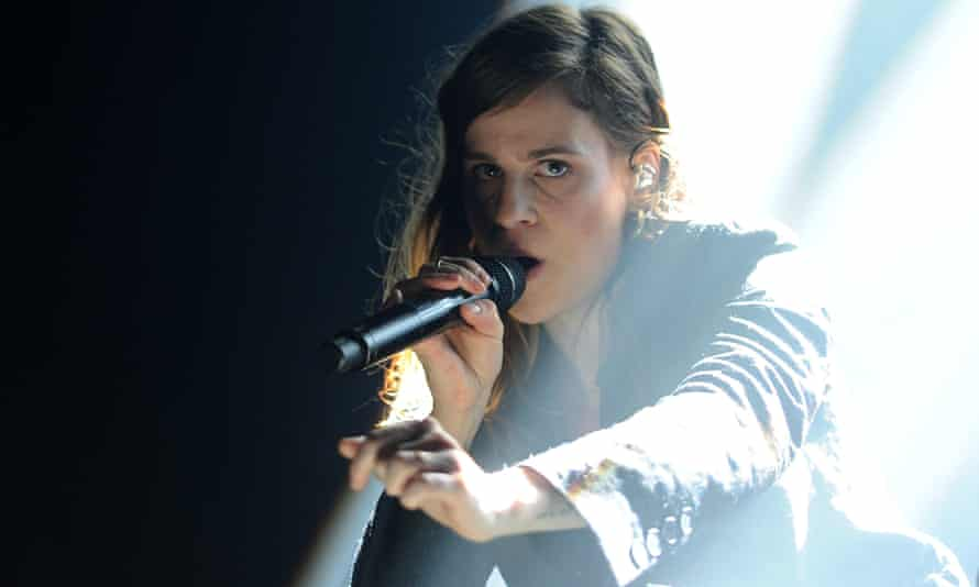 French singer Héloïse Letissier of Christine and the Queens