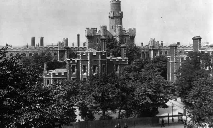 Holloway Prison, London, July 1913.