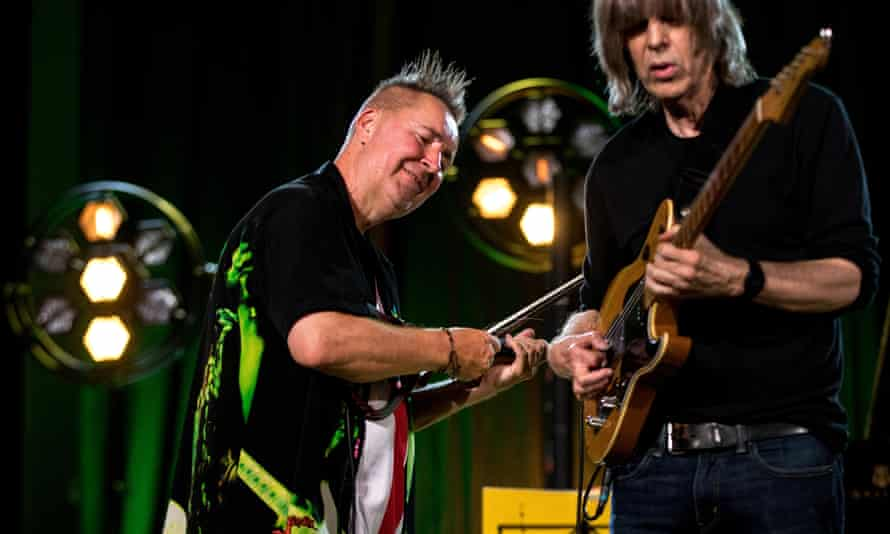 Mindblowing … Kennedy and Mike Stern play Hendrix at a jazz festival in Poland.