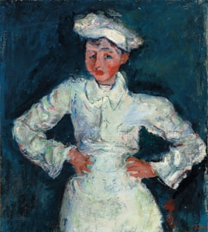 The Little Pastry Cook by Chaim Soutine c.1927.