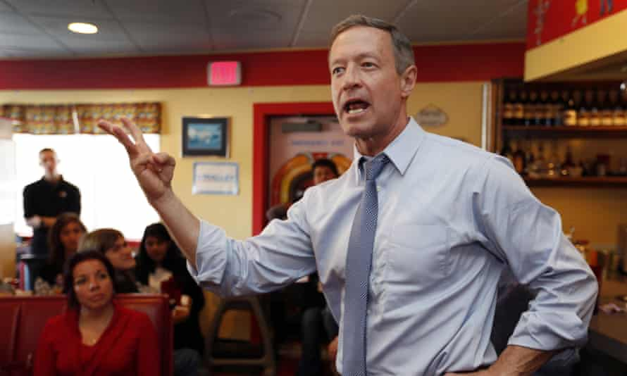 Martin O'Malley has announced he is suspending his 2016 presidential campaign.