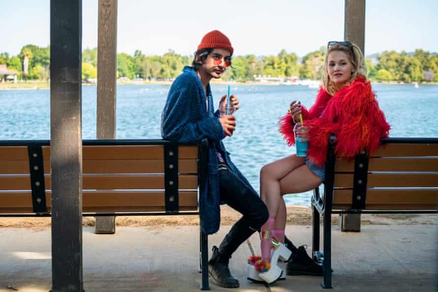 Avan Jogia and Kelli Berglund.