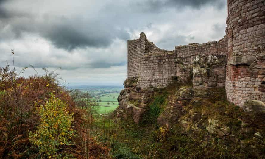 Beeston Castle in Cheshire.