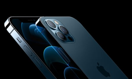 The iPhone 12 Pro has a triple camera system on the back similar to previous models.